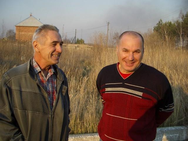 Anatoly Lebedev and Gennady Baikov