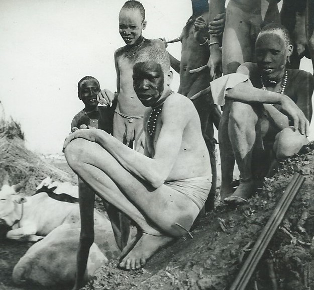 Bor Dinka in the 1930s, taken by my Uncle Percy Durran