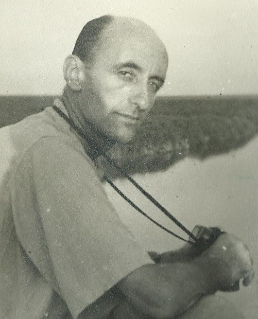 Uncle Percy on the White Nile in 1951